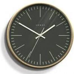 Scandinavian Wall Clock Grey