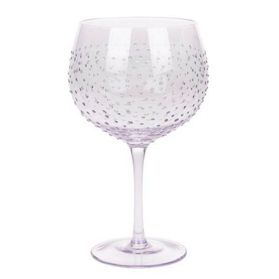 Sunny by Sue Lilac Lustre Gin Glass