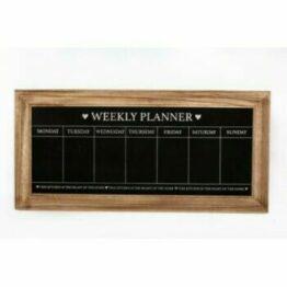 Weekly Planner Chalkboard