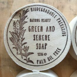 Green and Serene Soap
