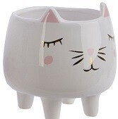 Whiskers Mini Cat Planter