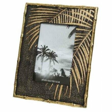 Bamboo Black Gold Photo Frame