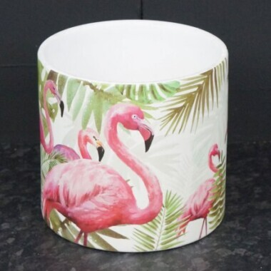 Flamingo Tropical Plant Pot