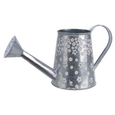 Zinc Floral Watering Can