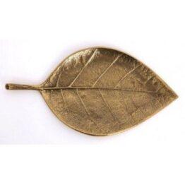 Vintage Gold Leaf Dish