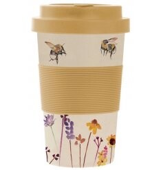 Busy Bee Bamboo Travel Mug