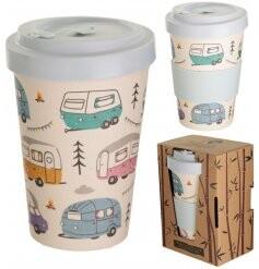 Caravan Park Bamboo Travel Mug