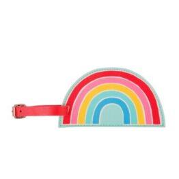 Rainbow Luggage Book Bag Tag