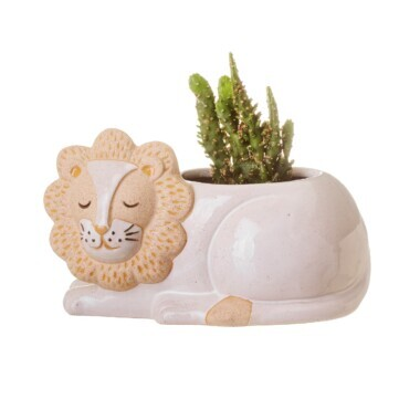 Leo Lion Planter