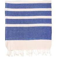 Navy Stripe Hammam Towel