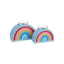 Rainbow Storage Cases Set