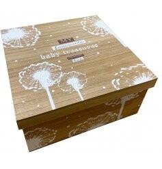 Baby Wooden Keepsake Box