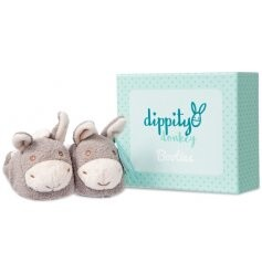 Dippity Donkey Baby Booties
