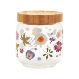 Pressed Flowers Storage Jar Small