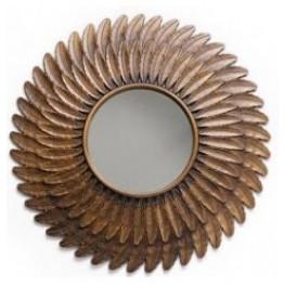 Bronze Sunburst Mirror