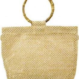 Raffia Tote Beach Bag