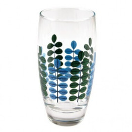 Set of 6 Leaf Drinking Glasses