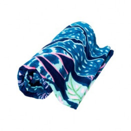 Variegated Sea Leaves Beach Towel