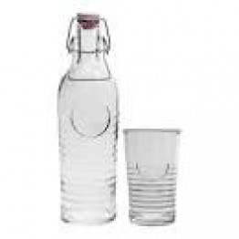 Bormioli Rocco Bottle and 4 Tumbler Set