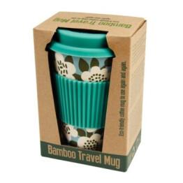 Astrid Olive Bamboo Travel Mug