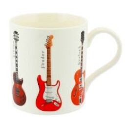 Guitar China Mug