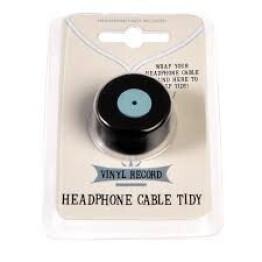 Vinyl Record Headphone Cable Tidy