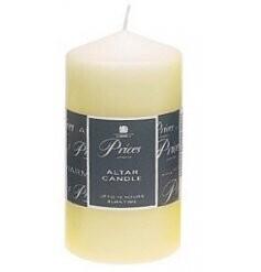 Altar Natural Pillar Candle
