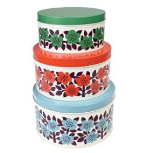 Astrid Flowers Set of Cake Tins