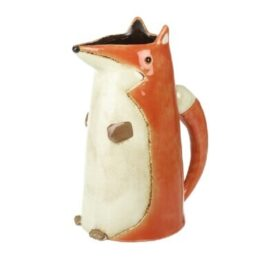Ceramic Fox Jug