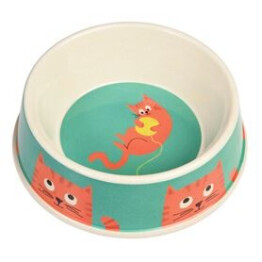 Chester the Cat Bamboo Cat Bowl