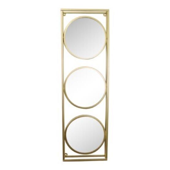 Gold Triple Mirror