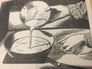 19th Century Cake Making