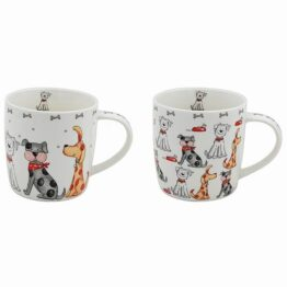 Pair of Faithful Friends Mugs
