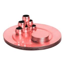 Pink Christmas Table Set