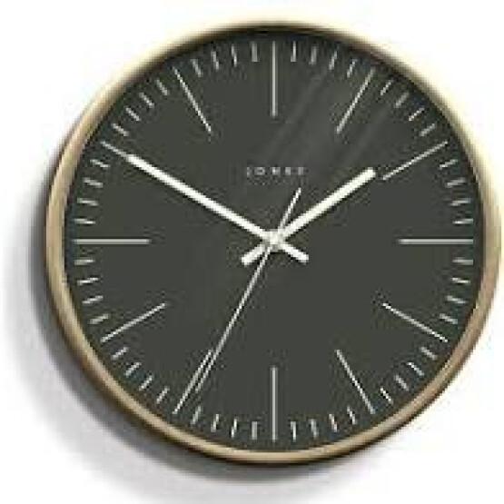 Jones Scandinavian Grey Clock