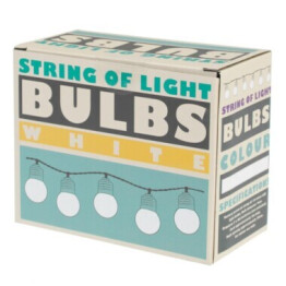 string of light bulb lights