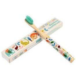 Kids Bamboo Toothbrush Wild Wonders