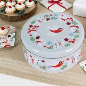 Christmas Cake Tins