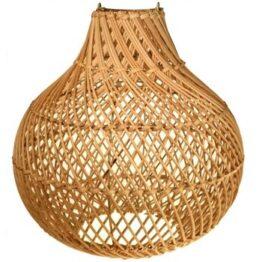 Rattan Onion Light Shade