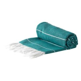 Teal Stripe Hammam Towel