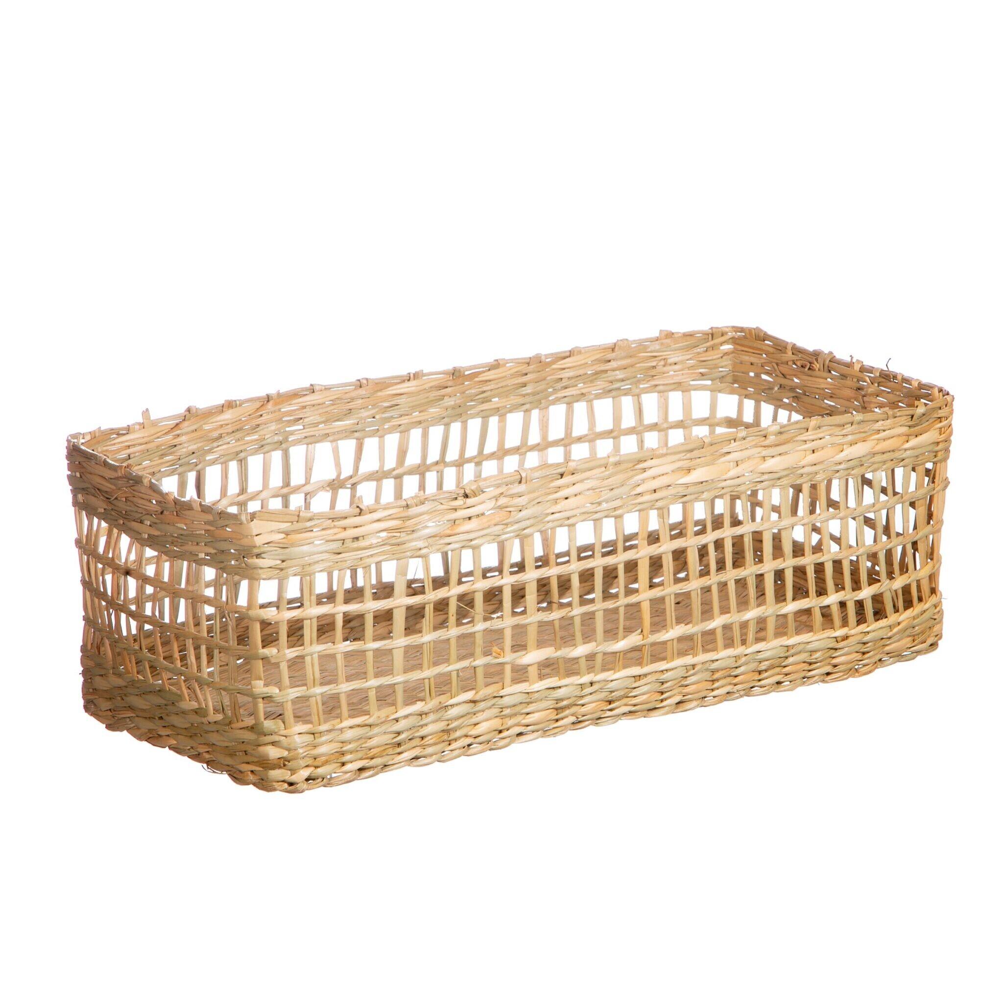 Seagrass Rectangular Basket