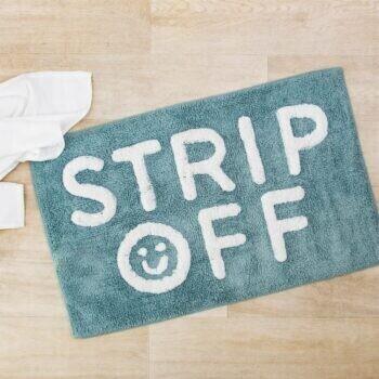 Strip Off Bathroom Mat