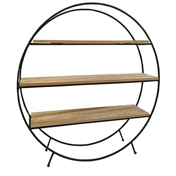 Freestanding Circular Shelf