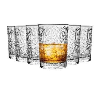 Set of 6 Bormioli Rocco Lounge Whisky Glasses