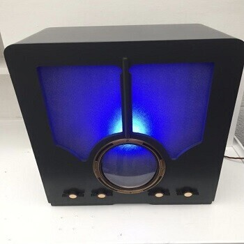 1940s Radio Casing LED Light