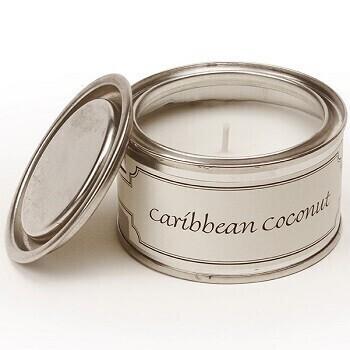 Pintail Paint Pot Candle Caribbean Coconut