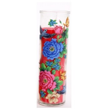 Red Mexican Tube Candle