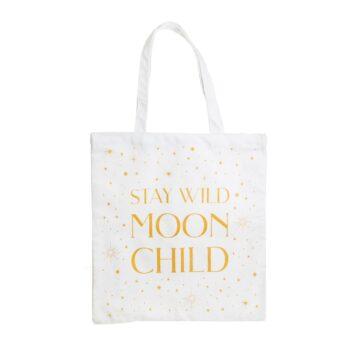 Stay Wild Moon Child Cotton Bag
