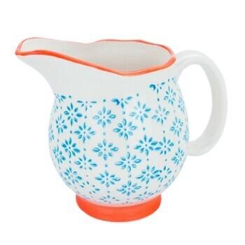 Ceramic Gravy Jug Teal