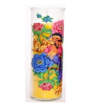 Yellow Mexican Tube Candle